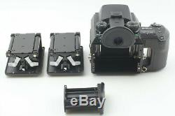 NEAR MINT Pentax 645NII Medium Format Film Camera 120 Film Back From JAPAN