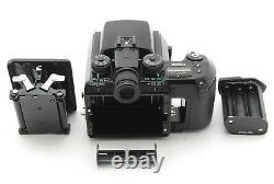 NEAR MINT Pentax 645N Medium Film Camera Body with120 Film Back from JAPAN C12