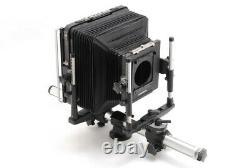 NEAR MINT Plaubel 8x10 Large Format Film Camera with4x5 + 5x7 Reducing Back 2989