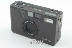 NEAR MINT withStrap Contax T3 Back 35mm Point & Shoot Film Camera From JAPAN