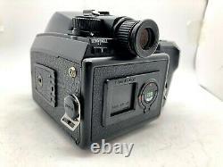 N MINTPentax 645 N Camera + SMC A 75mm f2.8 MF Lens + 120 Film Back from Japan