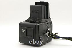 N MINT+++Bronica SQ-A Film Camera 80mm 150mm 250mm 120 Film Back From JAPAN