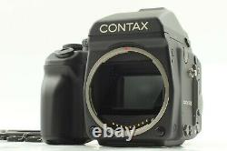 N MINT Contax 645 Camera + AE Finder MF-1 + 120/220 Film Back MFB-1 from JAPAN