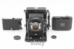 N MINT Horseman VH Camera + P. S 105mm f3.5 Lens 8exp 120 Film Back From JAPAN