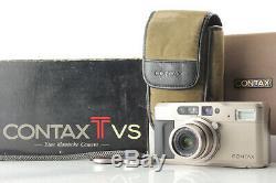 N MINT IN BOX Contax TVS Point & Shoot Film Camera Carl Zeiss Data Back JPN 37