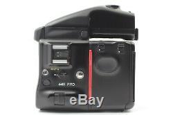 N MINT Mamiya 645 Pro Camera Body with 120 220 Film Back AE Finder Strap Japan