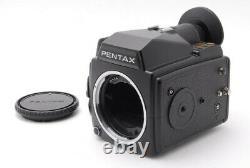 N MINT PENTAX 645 Medium Format Camera + 120 Film Back From JAPAN g96