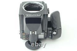 N. MINT ++ PENTAX 645 Medium Format Camera + 75mm f/2.8 +120 Film Back Japan