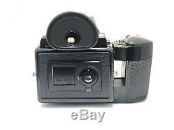 N MINT Pentax 645 Camera + SMC A 75mm f/2.8 Lens + 120 Film Back + Flash from JP