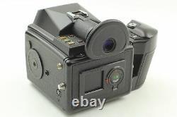 N MINT Pentax 645 Medium Format Camera 55mm f/2.8 Lens 120 Film Back JAPAN