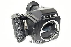 N MINT Pentax 645 Medium Format Film Camera Body 120 220 Film Back From Japan