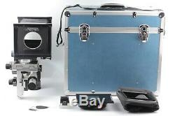 N. MINT Sinar P 4x5 Large Format View Film Camera with Film Back From JAPAN #1287