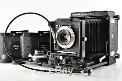 N MINT Topcon Horseman VH Camera 65, 100mm Lens, 8EXP 6x9 Film Back, From Japan
