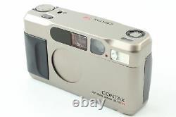 N MINT in Box Contax T2 Data back Titan 35mm Point & Shoot Film Camera JAPAN