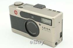N MINT+++ with Data Back Leica Minilux 35mm Point & Shoot Film Camera Japan
