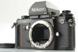 N. MintNikon F3 HP Black 35mm SLR Film Camera Body, MF-14 Data Back Japan #86