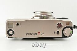 N. Mint! Contax TVS Point & Shoot Film Camera with Data Back & Filter from Japan
