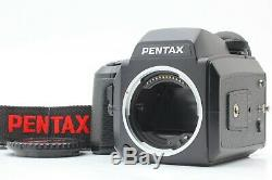 Near MINTPentax 645N Medium Format SLR Film Camera with 120 Film Back from Japan
