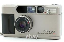 Near MINT Contax T2 D T2D Date Back 35mm Point & Shoot Film Camera From JAPAN