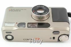 Near MINT+++ Contax T2 Titan Silver 35mm Film Camera + Data Back From JAPAN