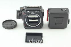Near MINT Mamiya 645 Pro Body Medium Format Film Camera 120 Film Back Japan