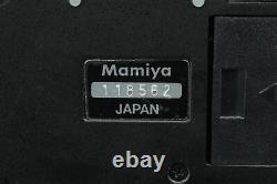 Near MINT Mamiya RZ67 Pro Camera Waist Level Finder 120 Film Back From JAPAN