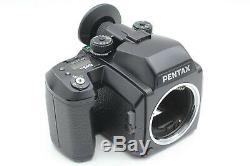 Near MINT Pentax 645N Camera SMC A 75mm f2.8 Strap 120&220 Film back JAPAN