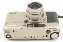 Near MINT in Box Contax TVS Data Back Point & Shoot 35mm Film Camera JAPAN