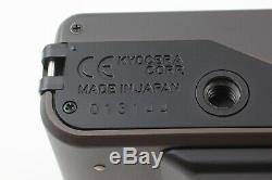 Near MINT with Data BackContax T3 Titanium Black 35mm Film Camera from JAPAN 362