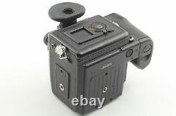 Near MINT with strap Pentax 645NII N II Film Camera + 120 Film Back From JAPAN