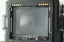 Near Mint Bronica ETR Si 6x4.5 Camera AE III Finder 120 Film Back Japan #224