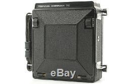 Near Mint Horseman VH 6x9 Medium Format Camera + 120 Film Back 8exp From Japan