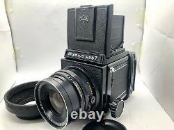 Near Mint Mamiya RB67 Pro Film Camera + Sekor NB 90mm f3.8 + 120 Film Back