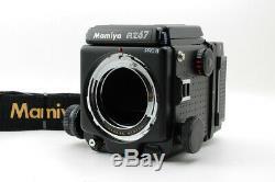 Near Mint Mamiya RZ67 PRO II Medium Format Camera Body 120 Film Back II JAPAN