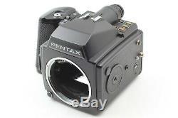 Near Mint PENTAX 645 Medium Format Camera Body with 120 Film Back x 2 JAPAN 123