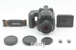 Near Mint++ Pentax 645NII N II Camera + A 75mm f2.8 Lens + 120 Film Back DHL
