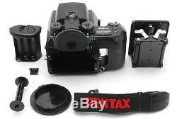 Near Mint Pentax 645N II NII Medium Format Camera Body 120 Film Back Japan