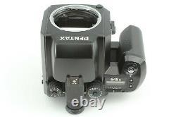 Near Mint Pentax 645 N Medium Film Camera Body with film back & Strap From Japan
