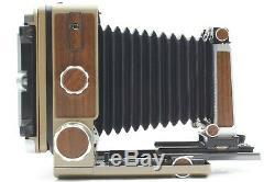Near Mint WISTA 45D Film Camera Wood with 135mm F/5.6 6x9 Back More Set #1085