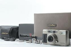 Near Mint with case in Box Contax TVS D Data Back 35mm Film Camera From Japan