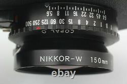 New Bellows! Toyo Field 45A With NIKOOR-W 150mm F5.6 Film back ×5 From Japan 733