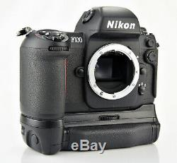 Nikon F100 35mm SLR Film Camera Body with MB-15 Battery Grip and MF-29 Data Back
