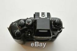 Nikon F4e F4 E Film Camera + MF 23 Back Professional Full Frame SLR