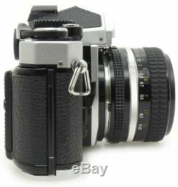 Nikon FM2N MF-16 Data Back 35mm SLR Film Camera + Nikkor Ai-s 50mm F1.4 MF Lens
