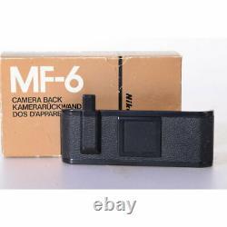 Nikon MF-6b Stoprückwand zur F3 Camera Back Stop Rückwand Film Back