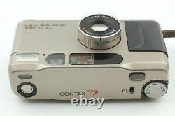 OPTICAL MINT CONTAX T2D T2 D Data Back 35mm Point & Shoot Film Camera JAPAN