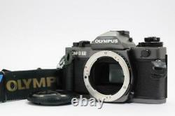 Olympus OM-3Ti 35mm SLR Film Camera OM3 ti with Data back 4 /Grip From JAPAN 2865