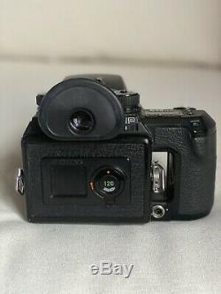 Pentax 645NII Medium Format SLR Film Camera and 75mm Lens Including 3 Backs