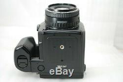 Pentax 645N Medium Format SLR Camera with FA 75mm f2.8 120 film back BOXED #3716