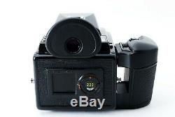 Pentax 645 Film Camera with SMC A 150mm F/3.5 & 120 Film Back Large Eyecup Exc++